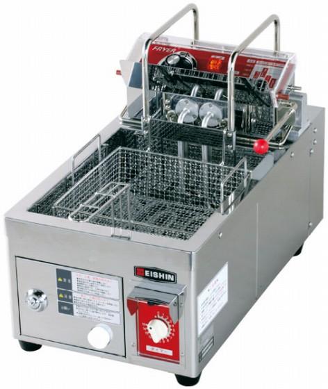 505-02 電気フライヤーEF-5L(オートリフト付) 843000040