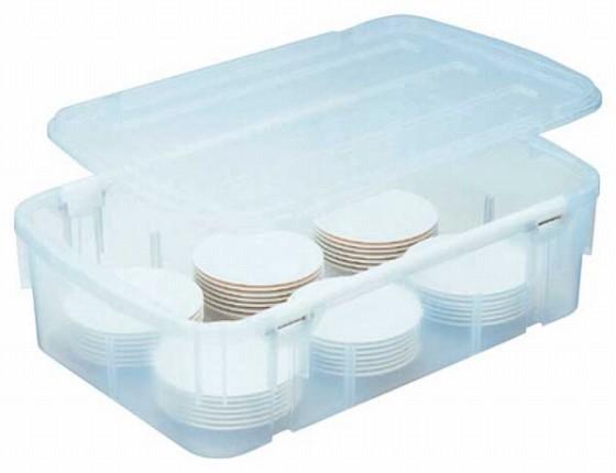 428-17 食器ポリテナー SY-28クリアー 871000020