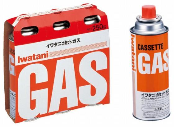 730-09 イワタニカセットガス 3pcs CB-250 OR 872000080