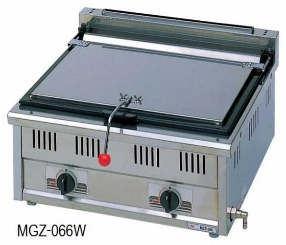 485-05 ガス餃子焼器(自動着火) MGZ-066W プロパン 910000060