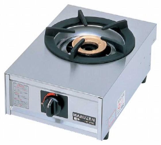 725-01 ガステーブルコンロ親子(自動点火) 一口コンロ M-201C プロパン 910000610
