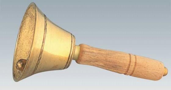 548-20 真鍮手振鈴 12.5cm 92000010