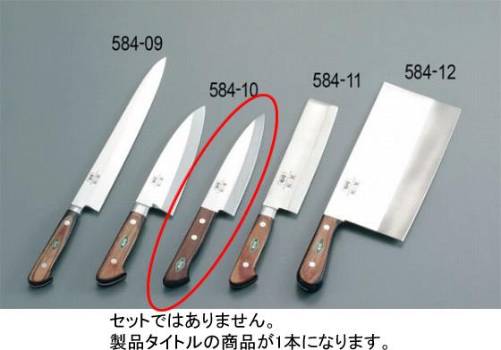 584-10 堺刀司 出刃庖丁 ツバナシ15cm 938000270