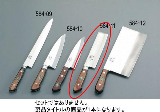 584-11 堺刀司 薄刃庖丁 16.5cm 938000280