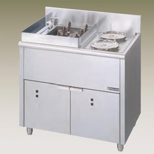 幅900 奥行600 ニチワ電機 電気ゆで麺器 ボイルタイプ ENB-900NH