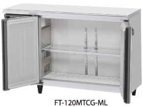 FT-120MTCG-ML ワイドスルーテーブル型冷凍庫 内装カラー鋼板 ホシザキ 幅1200 奥行450 容量167L
