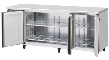 FT-180SDG-ML ワイドスルーテーブル型冷凍庫 内装ステンレス ホシザキ 幅1800 奥行750 容量551L