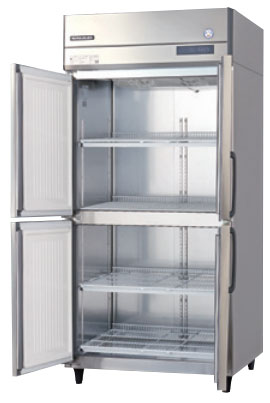 GRN-090RM-F インバータ制御冷蔵庫 フクシマガリレイ 幅900 奥行650 容量611L センターフリー