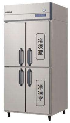 GRN-092PM インバータ制御冷凍冷蔵庫 フクシマガリレイ 幅900 奥行650 冷凍室273L 冷蔵室273L 2室冷凍