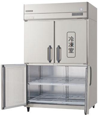 GRN-121PM-F インバータ制御冷凍冷蔵庫 フクシマガリレイ 幅1200 奥行650 冷凍室185L 冷蔵室608L センターフリー