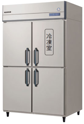 GRN-121PMD インバータ制御冷凍冷蔵庫 フクシマガリレイ 幅1200 奥行650 冷凍室185L 冷蔵室608L 1室冷凍