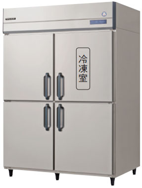 GRN-151PM インバータ制御冷凍冷蔵庫 フクシマガリレイ 幅1490 奥行650 冷凍室218L 冷蔵室735L 1室冷凍