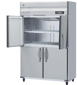 幅1200 奥行650 ホシザキタテ型冷蔵庫 ワイドスルー 容量824L HR-120AT-ML