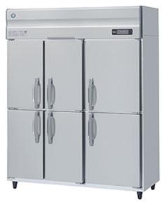 幅1500 奥行650 ホシザキタテ型冷蔵庫 6枚扉 容量1041L HR-150AT3-6D