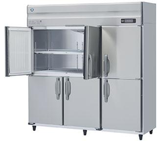 幅1800 奥行800 ホシザキタテ型冷蔵庫 ワイドスルー 容量1632L HR-180A-ML