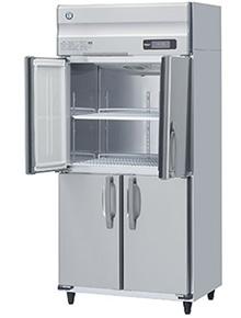 幅900 奥行650 ホシザキタテ型冷蔵庫 ワイドスルー 容量594L HR-90AT3-ML