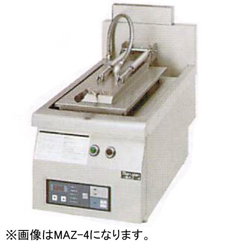 幅650 奥行750 マルゼン ガス自動餃子焼器 フタ固定タイプ MAZ-6