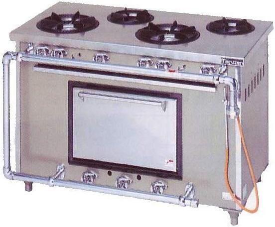 マルゼン スタンダードシリーズ ガスレンジ MGR-126DS 44.0kW