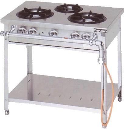 マルゼン スタンダードシリーズ ガステーブル MGT-096DS 30.2kW