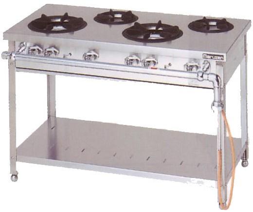 マルゼン スタンダードシリーズ ガステーブル MGT-126DS 36.3kW
