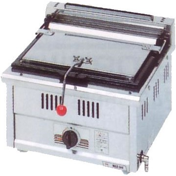 幅450 奥行450 スタンダードシリーズ(ガス)餃子焼器 MGZ-044