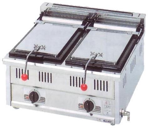幅600 奥行600 スタンダードシリーズ(ガス)餃子焼器 MGZ-066W