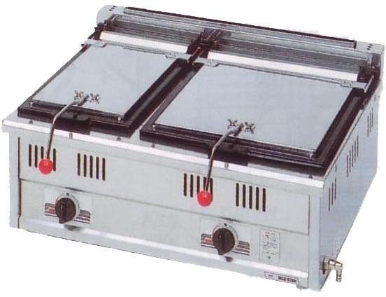 幅750 奥行600 スタンダードシリーズ(ガス)餃子焼器 MGZ-076W