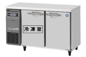RFT-120SDG テーブル型冷凍冷蔵庫 内装ステンレス ホシザキ 幅1200 奥行750 容量290L