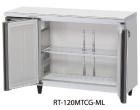 幅1200 奥行600 容量245L ワイドスルーホシザキ テーブル形冷蔵庫 内装カラー鋼板仕様 RT-120MNCG-ML