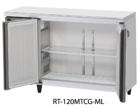 幅1200 奥行450 容量167L ワイドスルーホシザキ テーブル形冷蔵庫 内装カラー鋼板仕様 RT-120MTCG