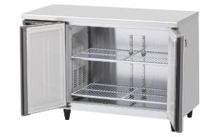 幅1200 奥行750 容量321L ホシザキテーブル形冷蔵庫 内装ステンレス仕様 RT-120SDG-ML