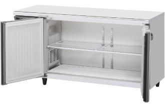 幅1500 奥行600 容量335L ワイドスルーホシザキ テーブル形冷蔵庫 内装カラー鋼板仕様 RT-150MNCG-ML