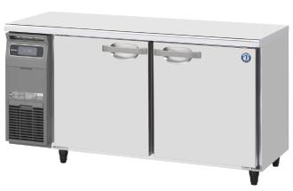 幅1500 奥行600 容量333L ホシザキ テーブル形冷蔵庫 内装カラー鋼板仕様 RT-150MNCG