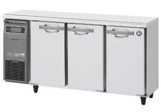 幅1500 奥行450 容量225L ホシザキ テーブル形冷蔵庫 内装カラー鋼板仕様 RT-150MTCG