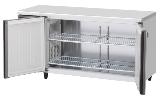 幅1500 奥行750 容量438L ホシザキテーブル形冷蔵庫 内装ステンレス仕様 RT-150SDG-ML