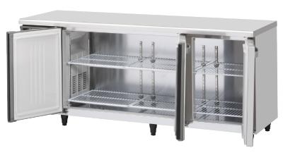 幅1800 奥行750 容量551L ホシザキテーブル形冷蔵庫 内装ステンレス仕様 RT-180SDG-ML