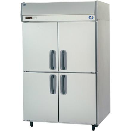 幅1200 奥行800 パナソニック タテ型業務用冷蔵庫 センターピラーレス SRR-K1281S