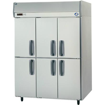 幅1500 奥行650 パナソニック タテ型業務用冷蔵庫 スリム扉仕様 SRR-K1561-3