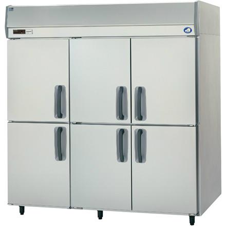 幅1800 奥行650 パナソニック タテ型業務用冷蔵庫 SRR-K1861
