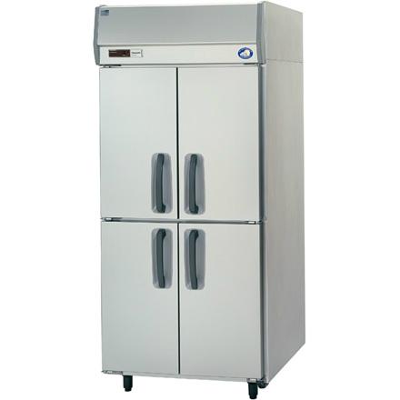 幅900 奥行650 パナソニック タテ型業務用冷蔵庫 センターピラーレス SRR-K961S