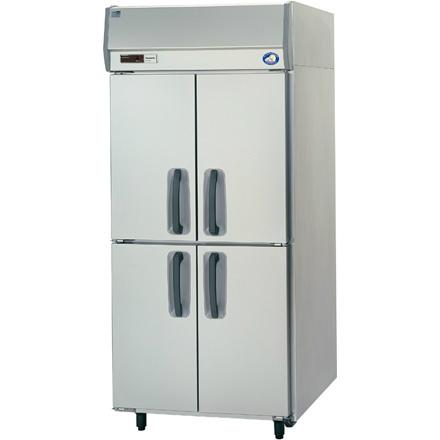幅900 奥行800 パナソニック タテ型業務用冷蔵庫 センターピラーレス SRR-K981S